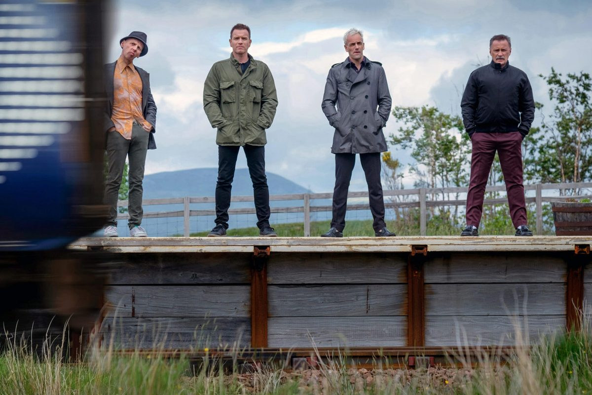 Trainspotting 2: Ewan McGregor, Ewen Bremner, Jonny Lee Miller, Robert Carlyle
