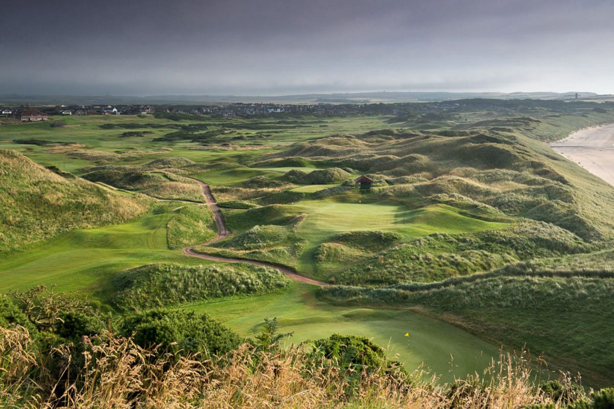 Cruden Bay 9th Tee Views