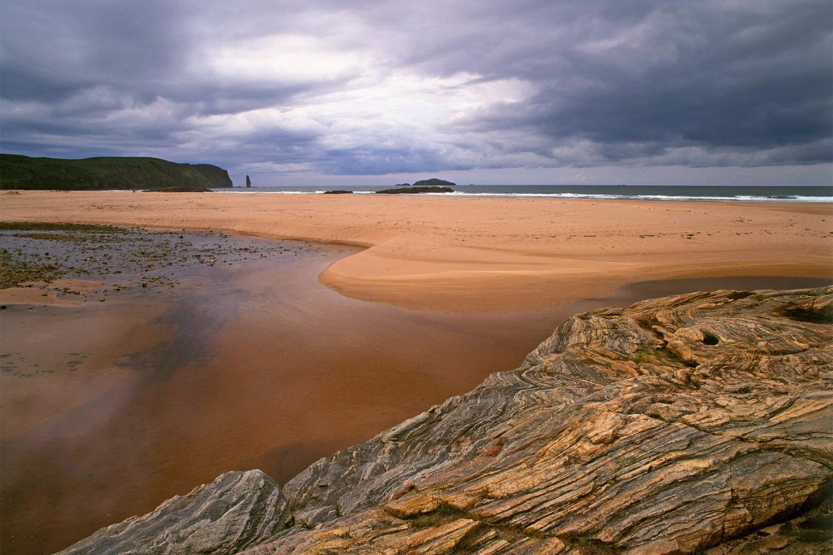 Sandwood Bay, Sutherland nelle Highlands