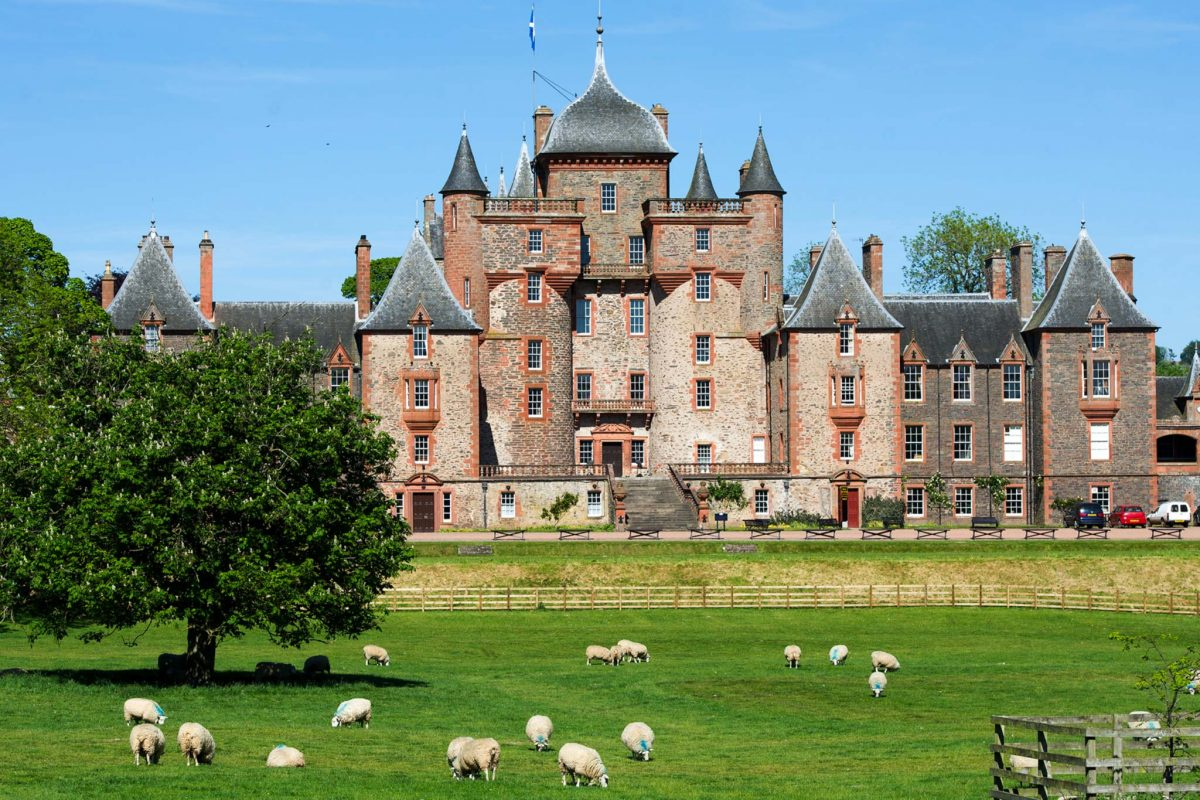 Thirlestane Castle, Lauder, Scottish Borders