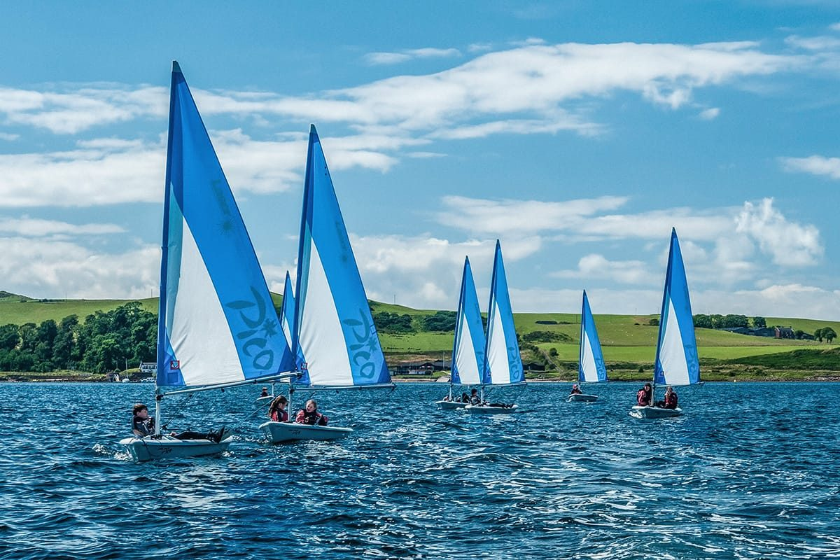 Dinghy sailing, SportsScotland National Centre, Cumbrae