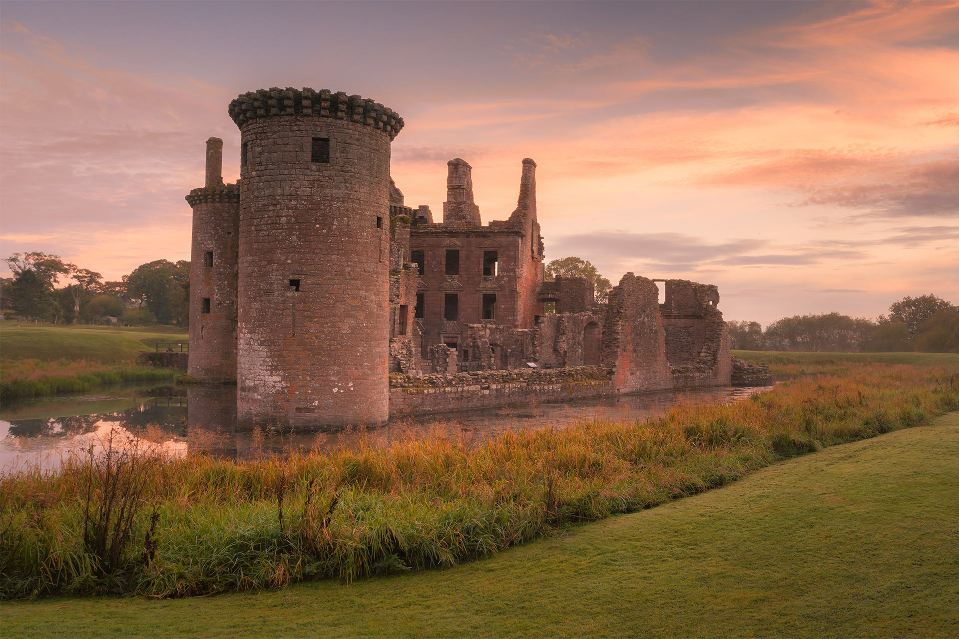 Castillo de Caerlaverock, Dumfries y Galloway