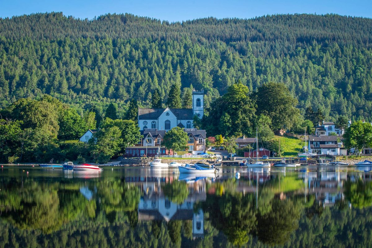 Kenmore village on Loch Tay, Perthshire