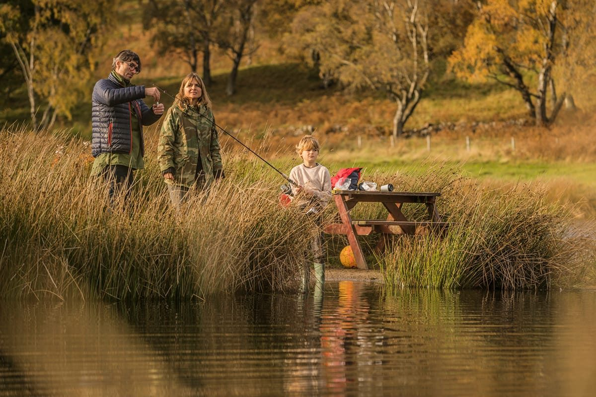 The Tullich Fishery, Ballater, Parc national des Cairngorms
