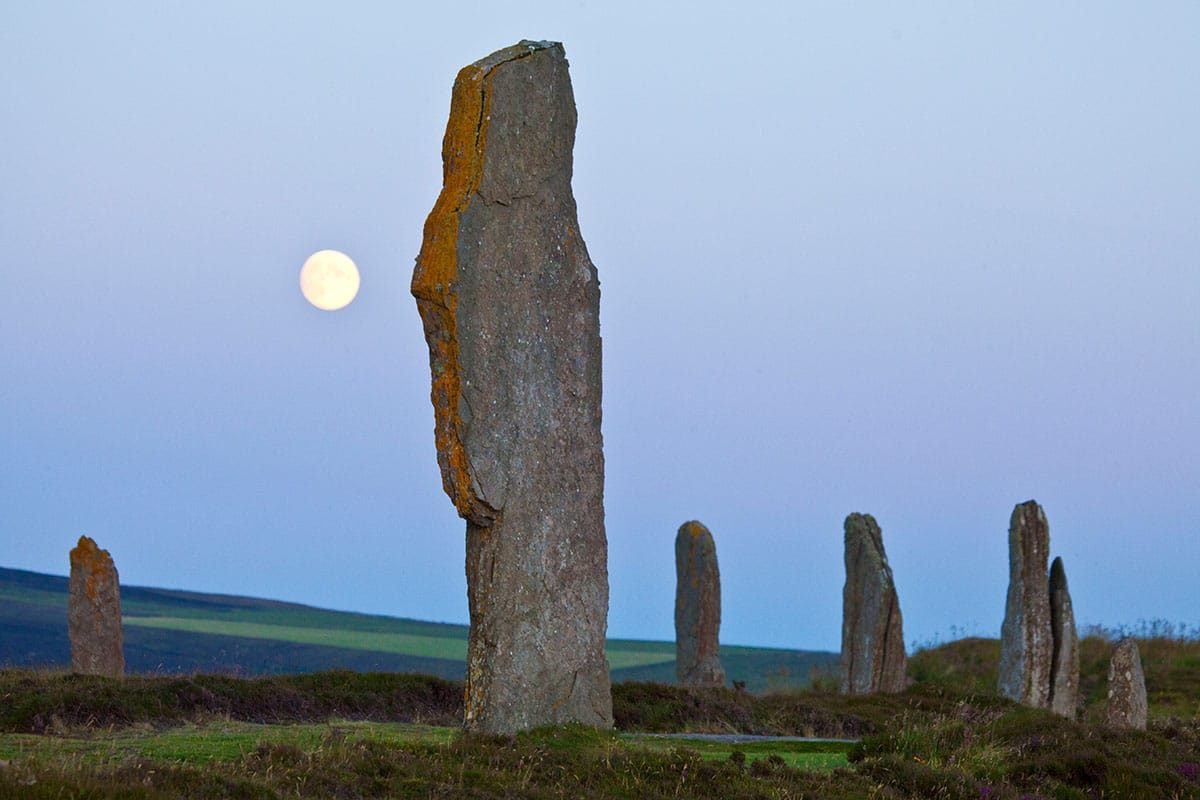 The Ring of Brodgar, Orkney © Daniel J. Allen