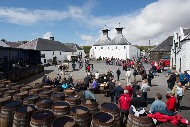 Ardbog Day - part of the Islay Festival of Music and Malt at the Ardbeg Distillery on the Isle of Islay