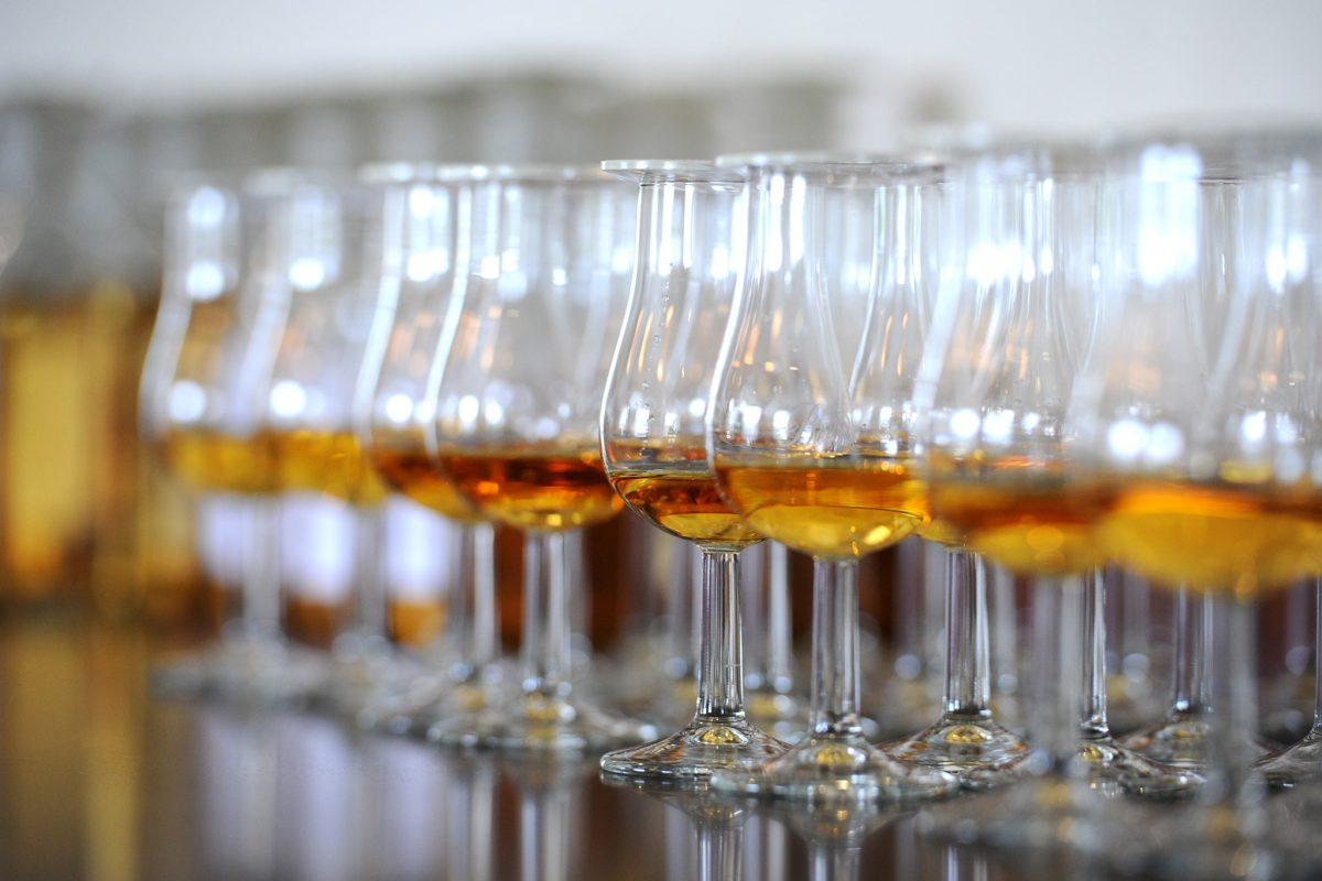 Whisky samples © Scottish Provincial Press