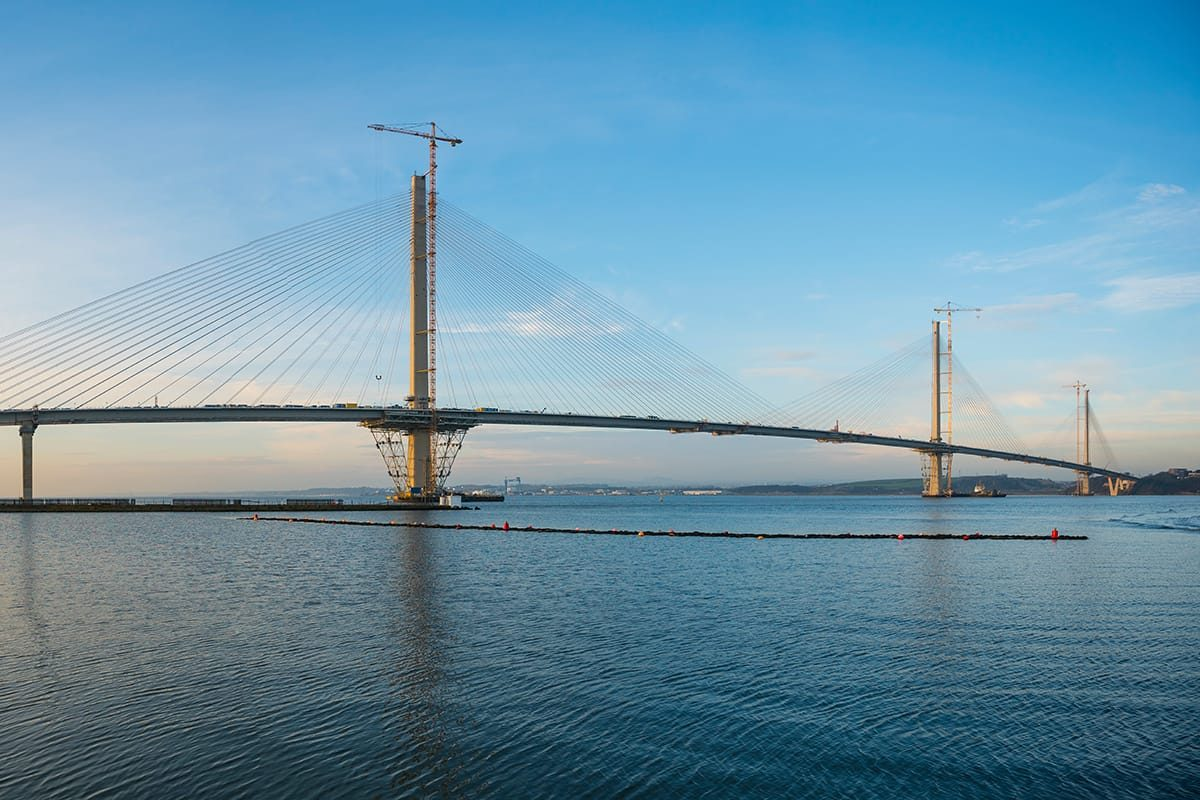 The new Queensferry Crossing