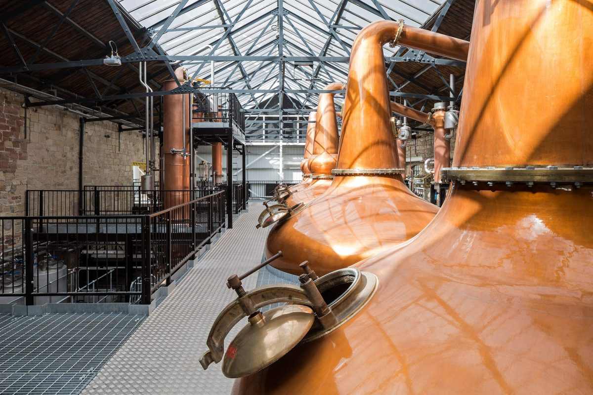 The Borders Distillery, Hawick, Scottish Borders