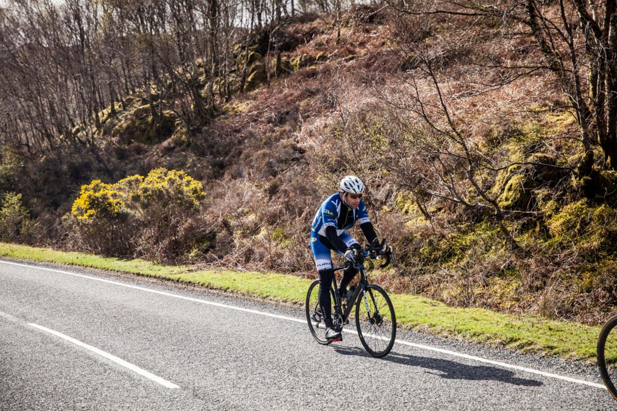 Mark Beaumont bei Around Britain © Mark Beaumont/Muckle Media
