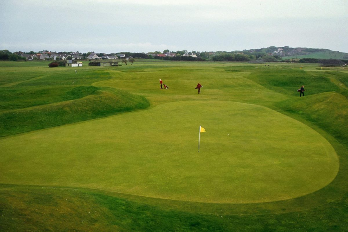 Muirfield golf course, East Lothian