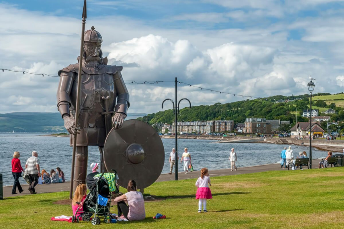 Largs Viking Festival © Ayrshire & Arran Tourism