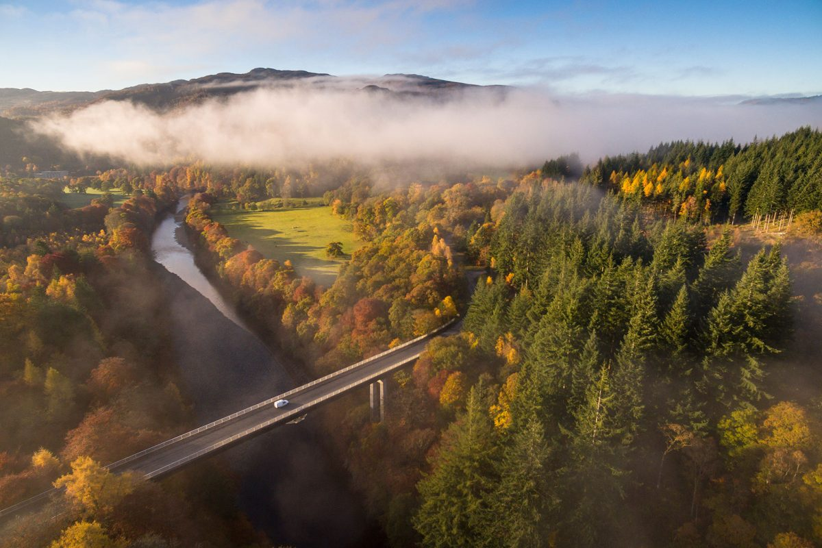 The River Garry and Garry Bridge near Killiecrankie