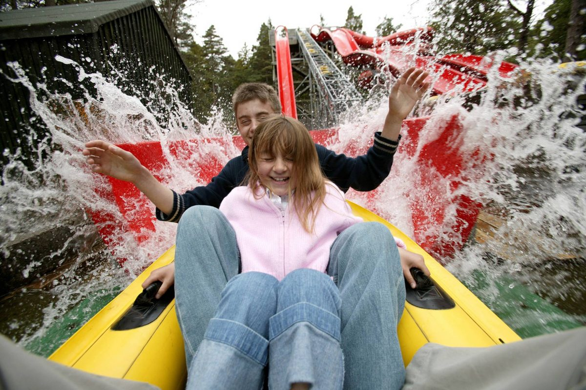 The Wild Water Coaster at Landmark Forest Adventure Park, Carrbridge ©Landmark Forest Adventure Park