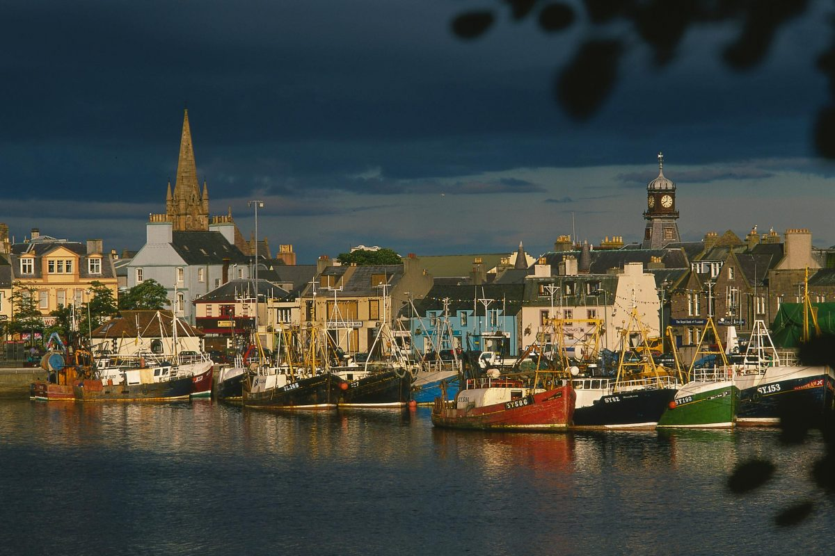 Fishing boats in Stornoway, Isle of Lewis