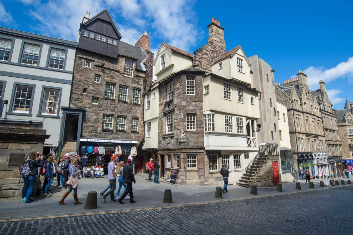 The Scottish Storytelling Centre and John Knox House