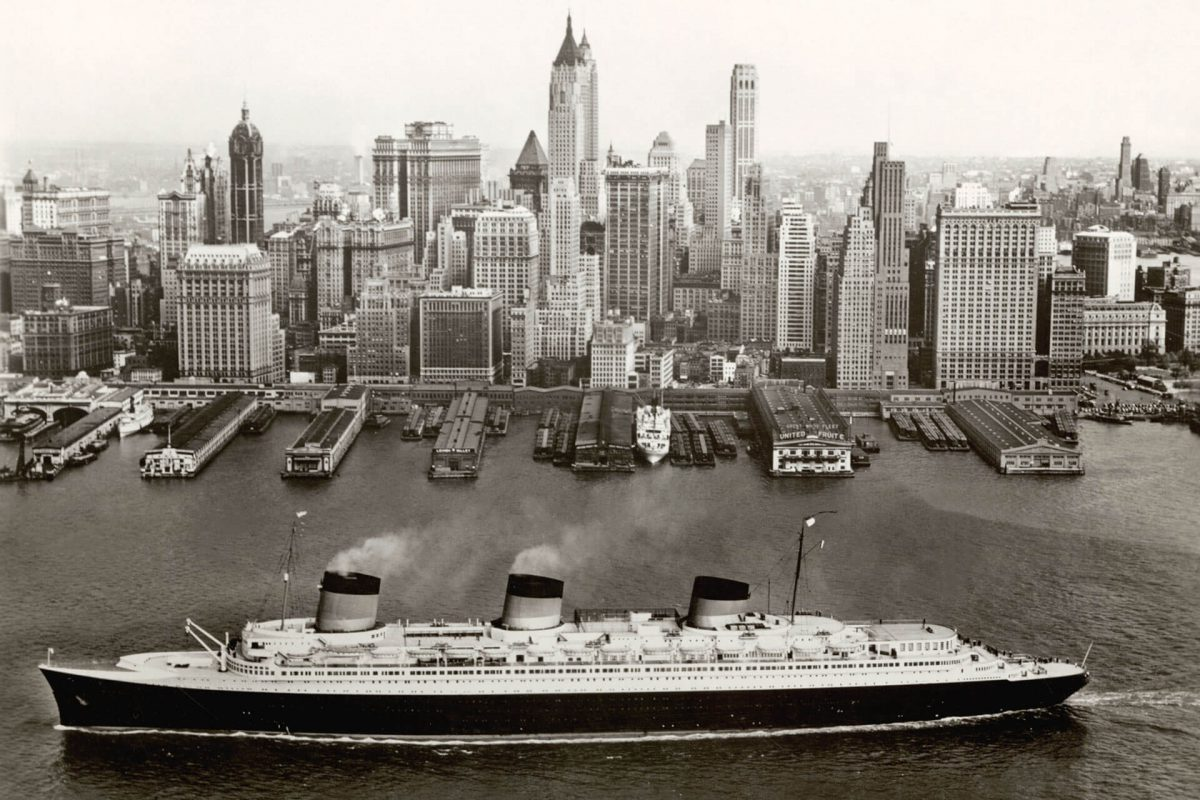 Normandie in New York, 1935-39 © Collection French Lines