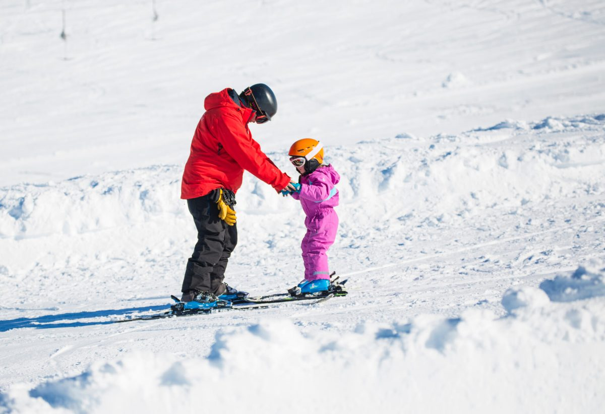 Fun for all the family! Learning to ski at CairnGorm Mountain