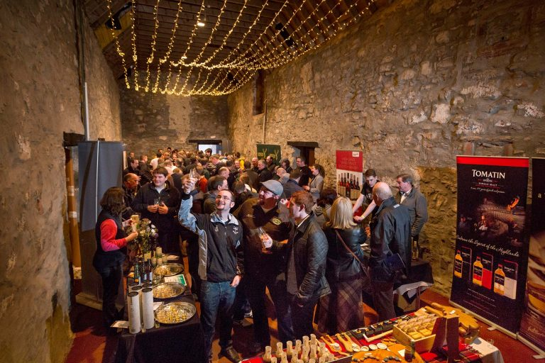 The Inverness Whisky and Gin Festival at Bogbain Farm