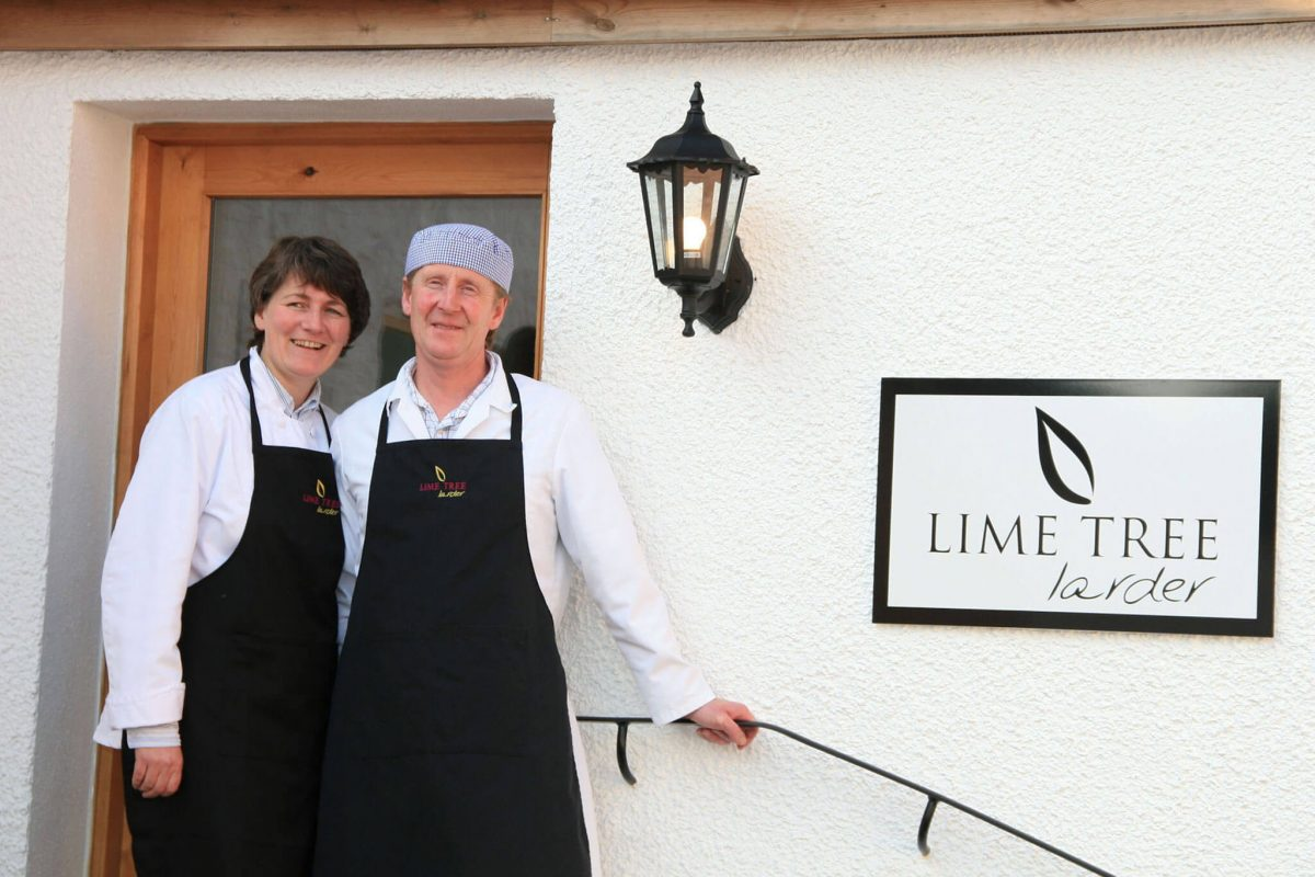 Jean and Alex Wilson of Lime Tree Larder