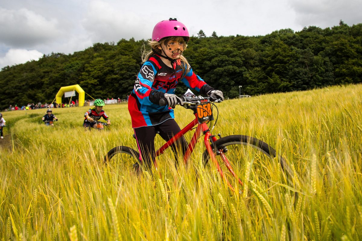 Family fun at the Eliminator MTB, Parkhill Farm, Newburgh
