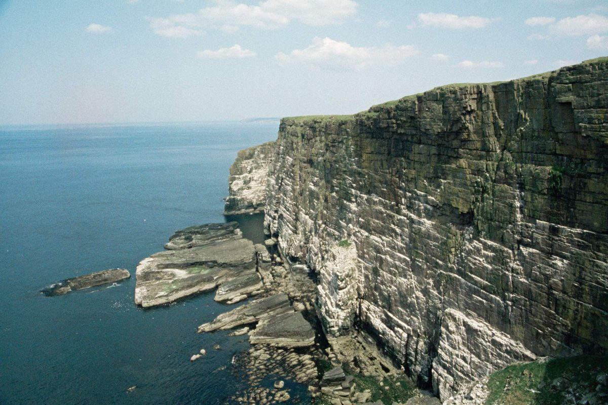 The dramatic cliffs of Handa Island, Sutherland