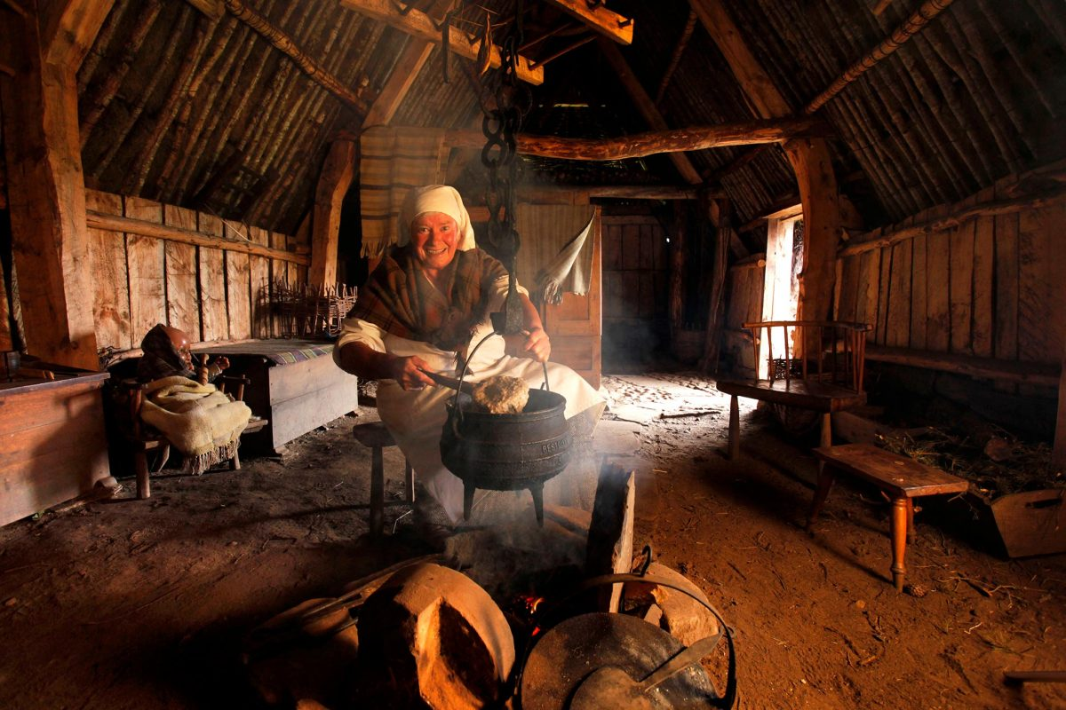 Highland Folk Museum, Newtonmore, Highlands of Scotland
