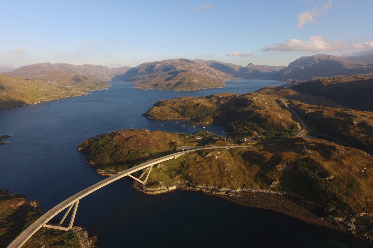 Kylesku Bridge, Sutherland