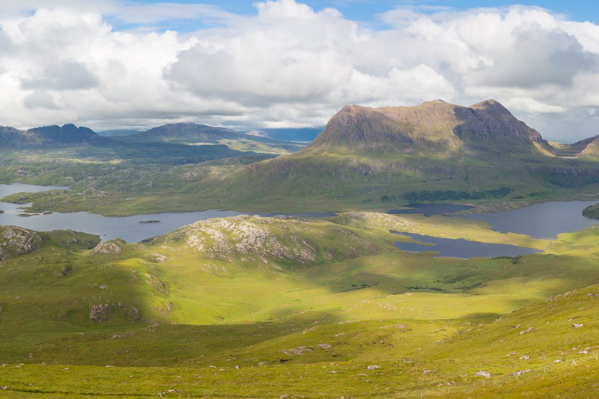 The view from Stac Pollaidh, Sutherland