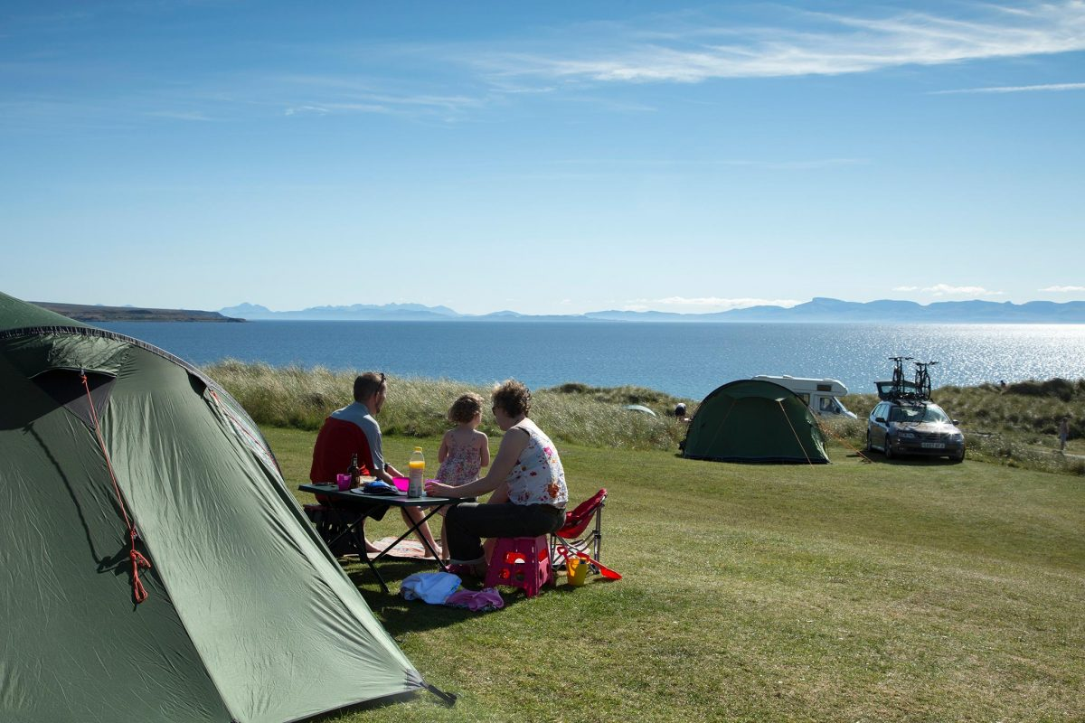 Sands Caravan and Camping Park near Gairloch, Highlands