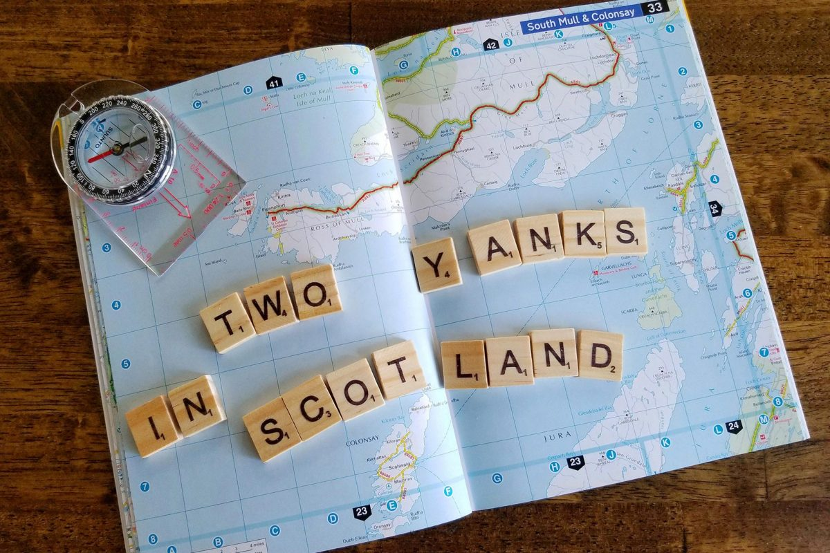 Two yanks in Scotland map image