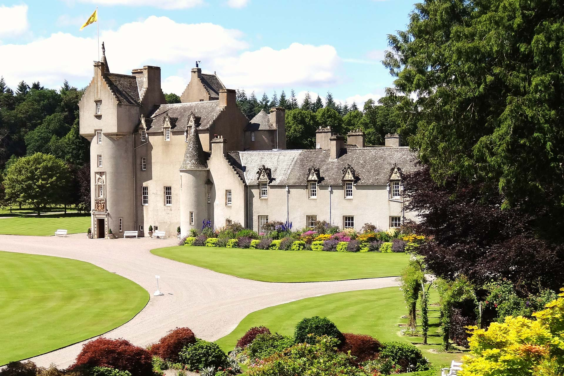 Le château de Ballindalloch, Moray Speyside © Claire Russell