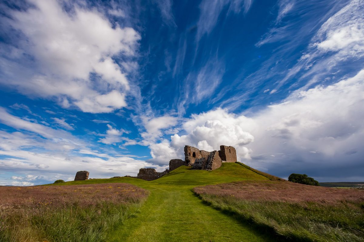 Duffus Castle, near Elgin © Gary Paul