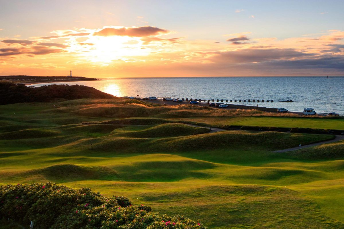 The Moray Course © Tony Sanderson