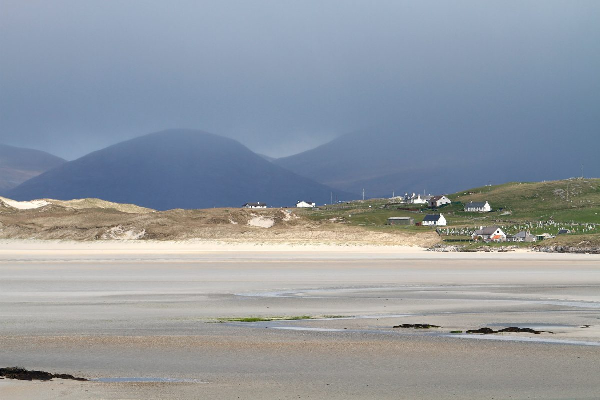Beach at Luskentyre, Isle of Harris.