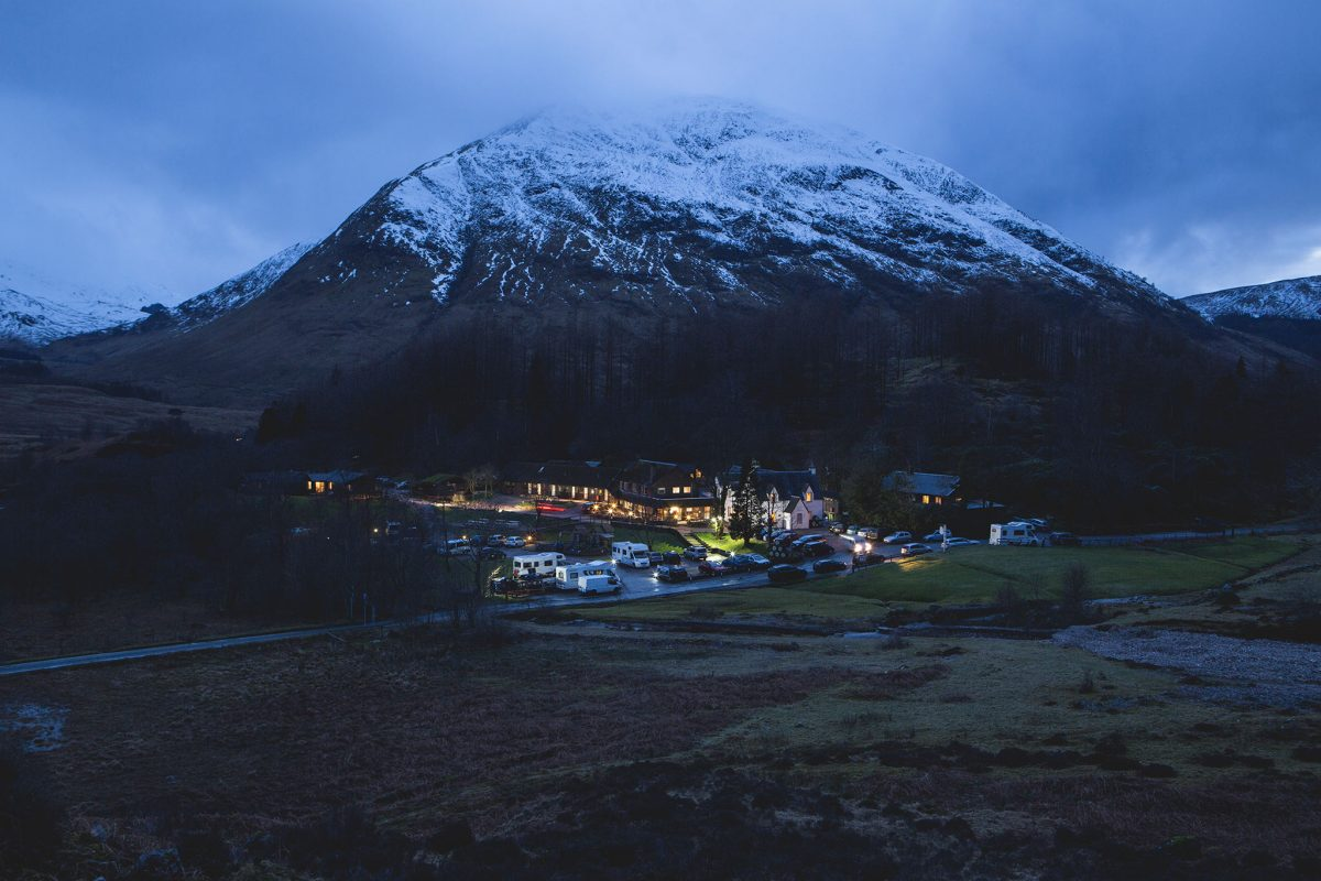 The Clachaig Inn, Glen Coe