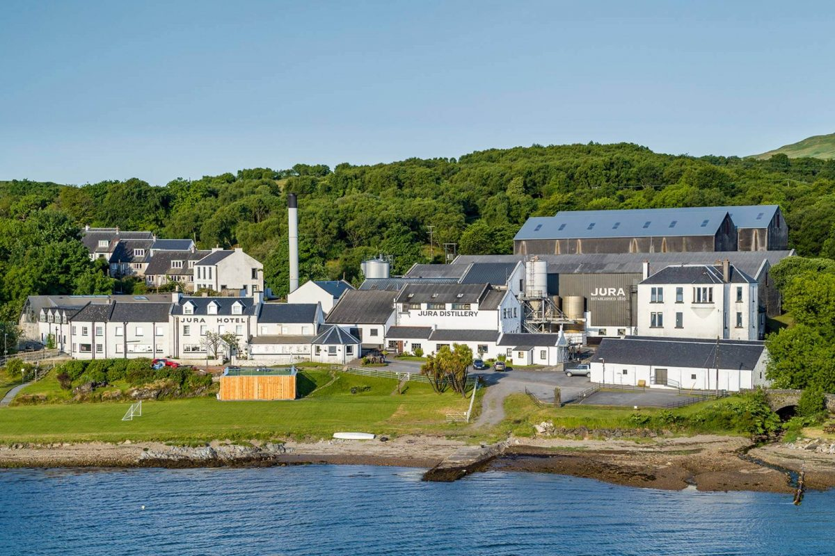 The Jura Hotel and Jura Distillery, Isle of Jura, Argyll
