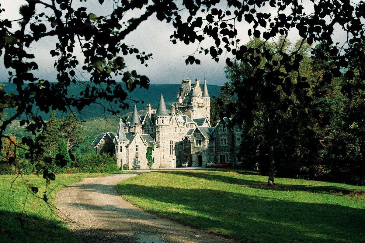 Ardverikie House and Estate know to many as Glenbogle in popular TV show 'Monarch of the Glen'