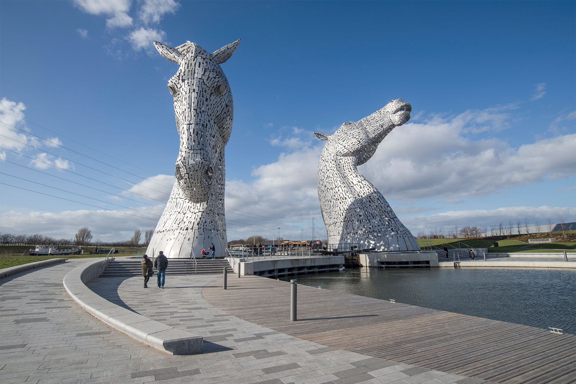 The Helix, Home of the Kelpies