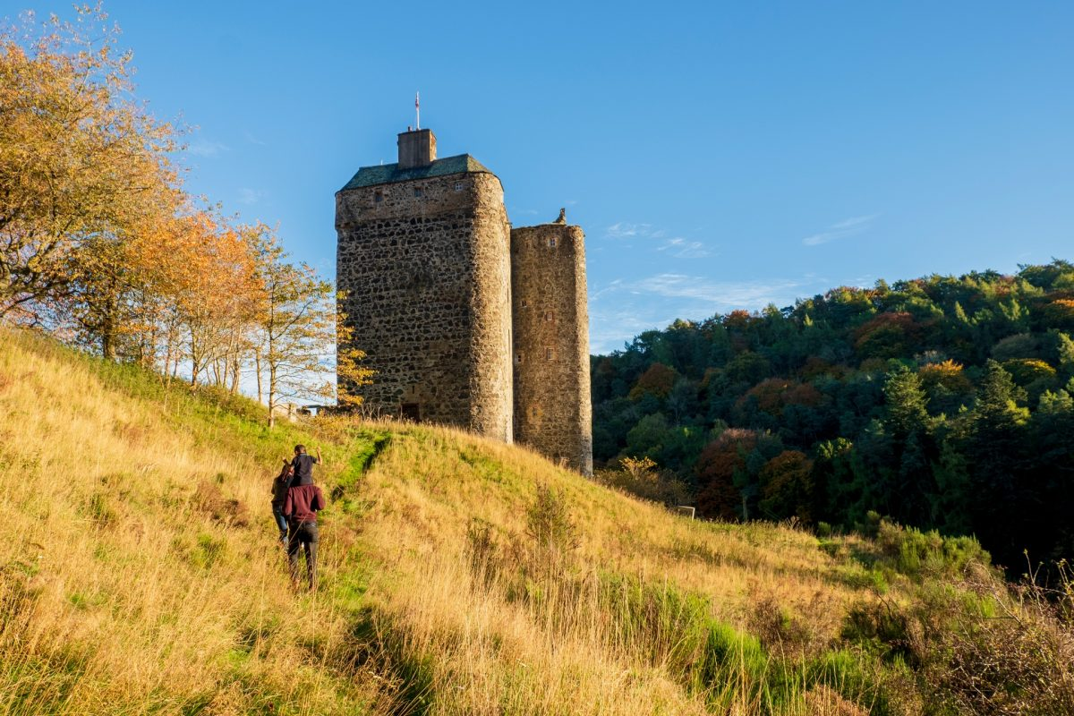 Neidpath Castle, near Peebles
