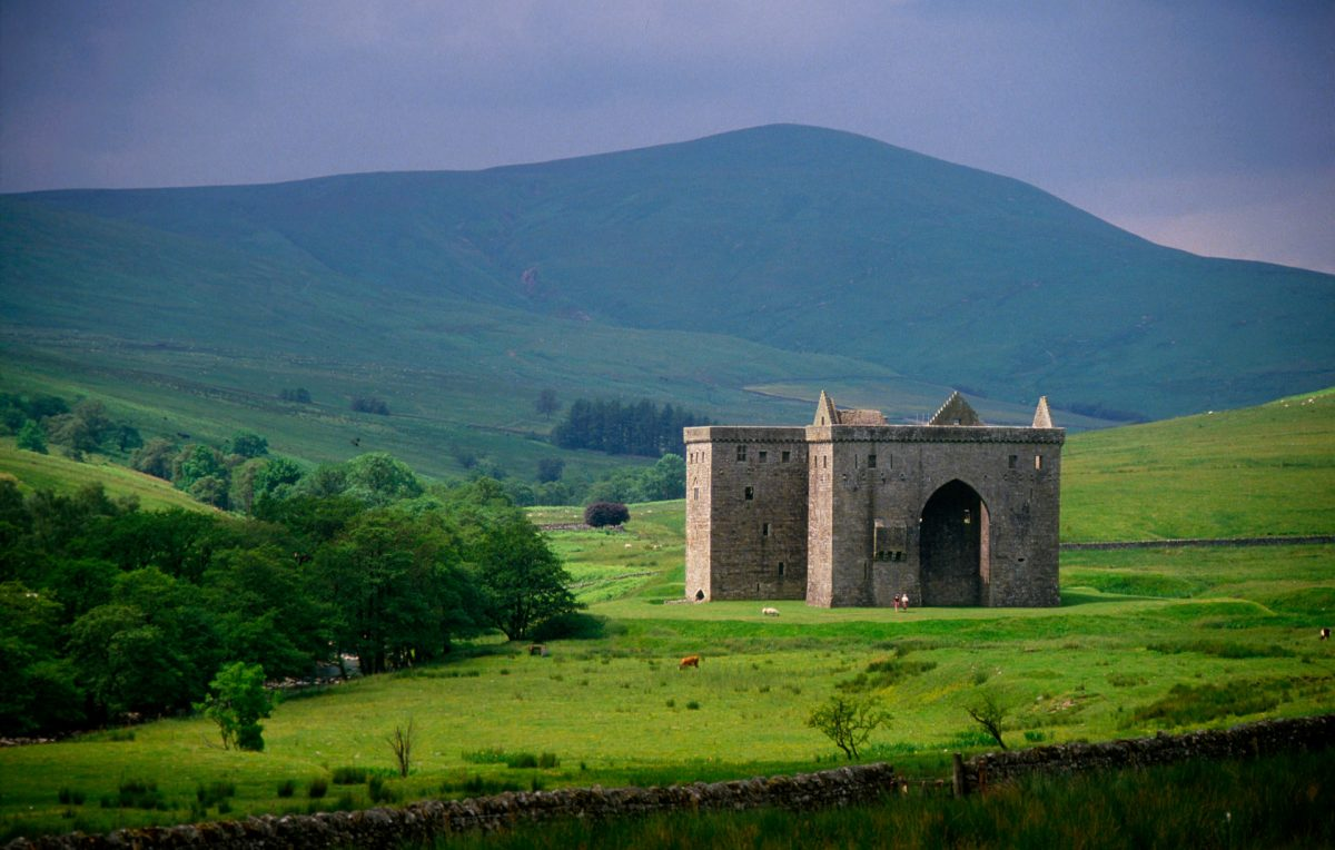 Hermitage Castle, near Newcastleton