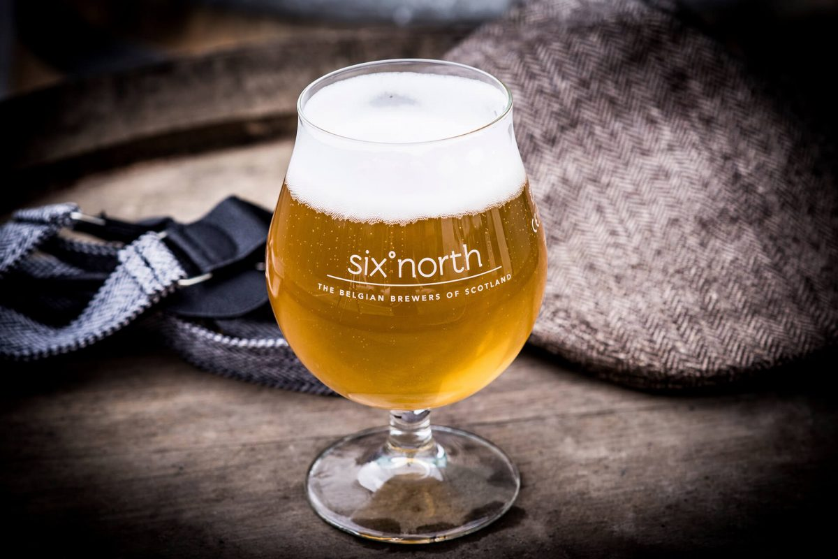 Belgian-inspired Scottish beer from six°north, Laurencekirk