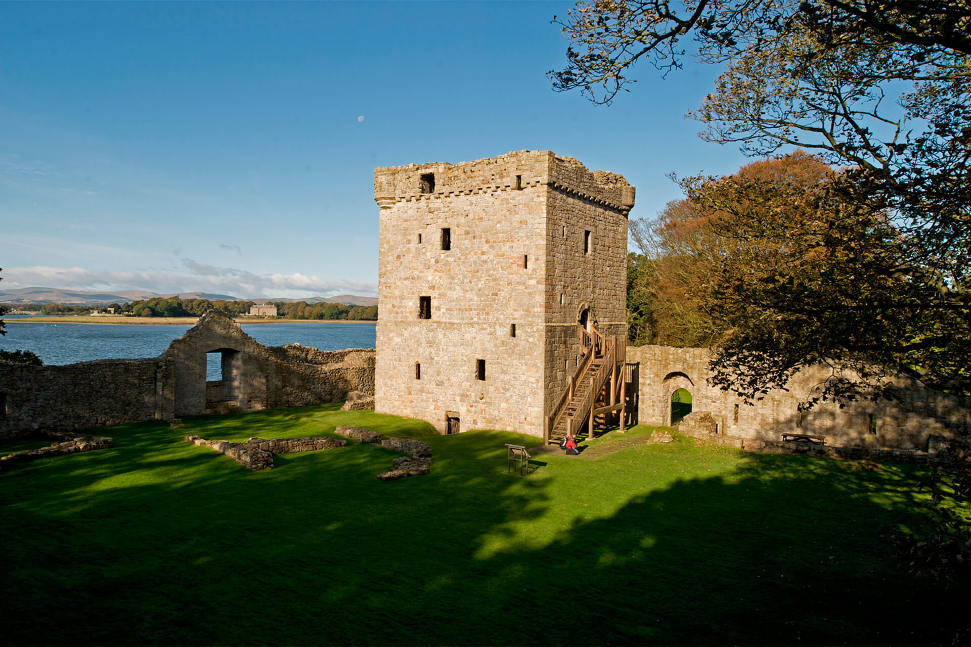 Loch Leven Castle in Perth and Kinross