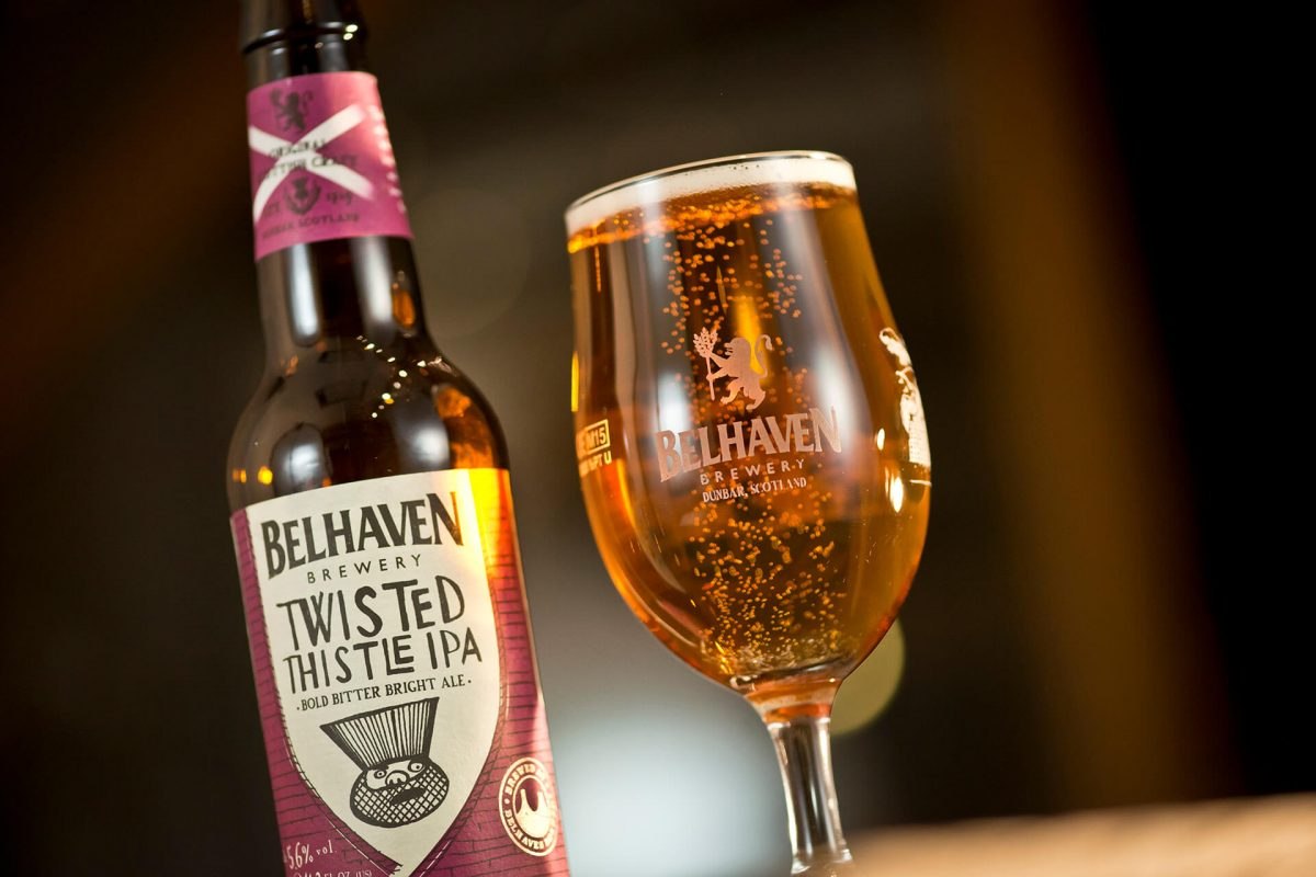 Wonderful beer from Belhaven, Scotland's oldest brewery