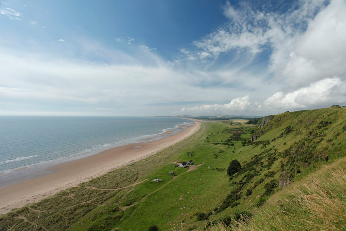 St Cyrus National Nature Reserve, Aberdeenshire