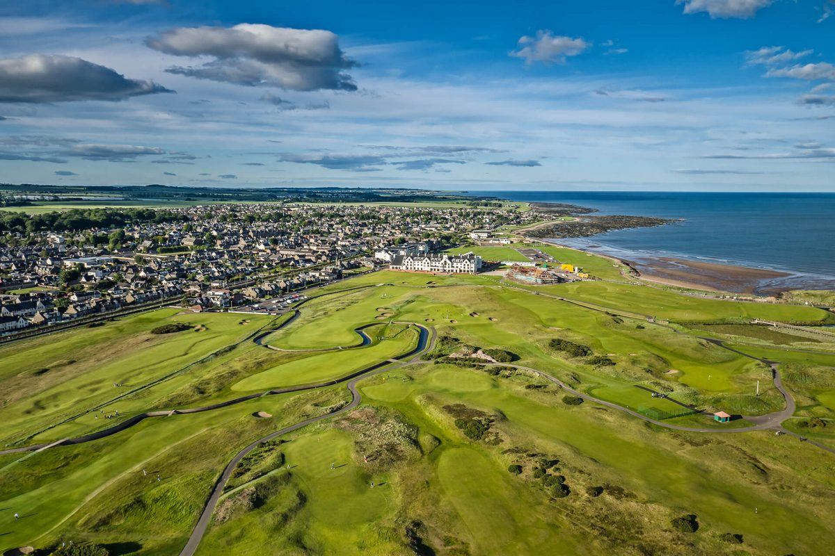 The 147 Open venue Carnoustie Golf Links