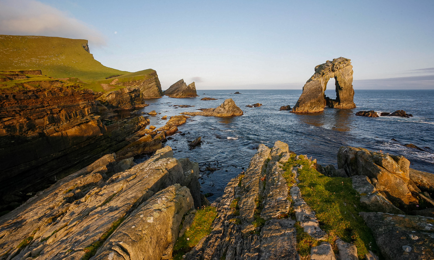 Gaada Stack, Isle of Foula