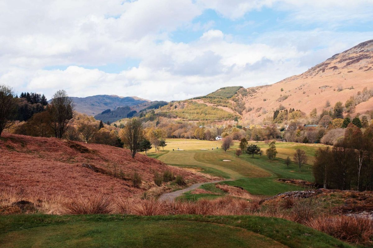 St Fillans Golf Course, Perthshire