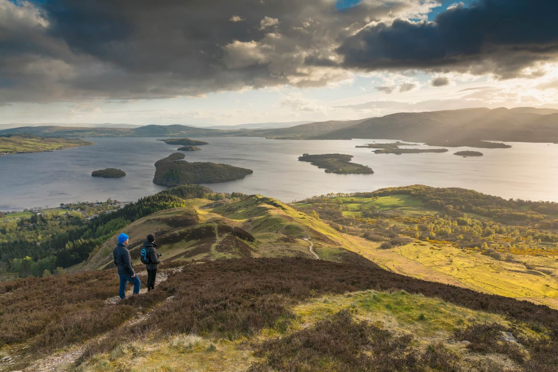 Walkers on Conic Hill, Stirling