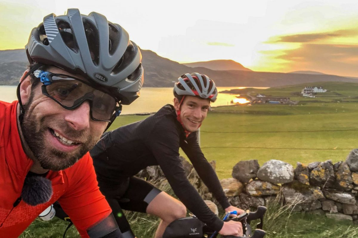 Mark Beaumont and Simon Richardson on their NC500 3-day epic
